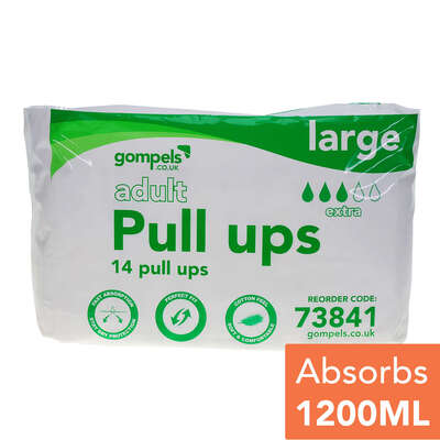 Adult Pull Ups Large 14 Pack