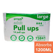 Gompels Adult Pull Ups Large 14