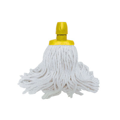 Soclean Cotton Twine Mop Head - Colour: Yellow