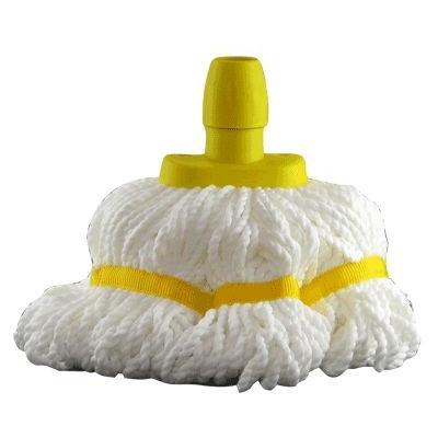 Soclean Microfibre Mop Head - Colour: Yellow