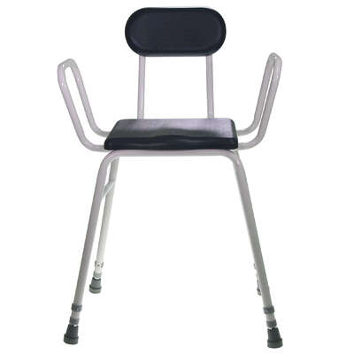 Perching Stool With Back