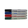 Drywipe Markers Assorted 4 Pack