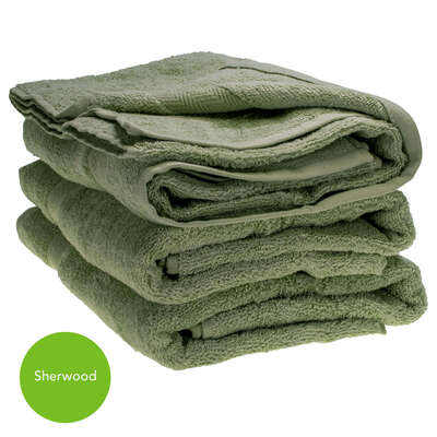 Bath Towel 70x130cm 500gm x 3 - Colour: Sherwood