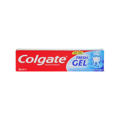 Colgate Toothpaste Blue Minty Gel 100ml