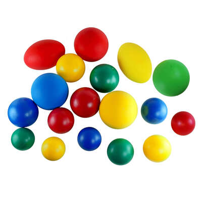 Assorted Balls 18 Pack