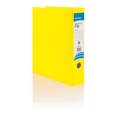 A4 Lever Arch File - Colour: Yellow