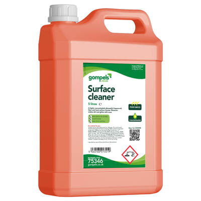 Gompels Concentrated Floor and Hard Surface Cleaner 5 Litre