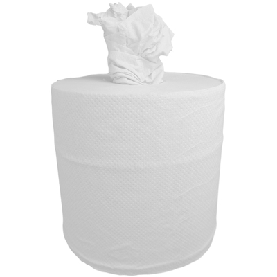 Centrefeed White Rolls 2ply 140m 6 Pack