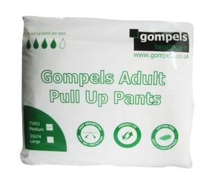 Gompels Adult Pull Up Medium 14