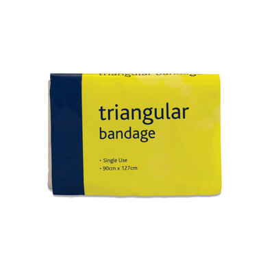 Triangular Bandage Single Use 90cm x 127cm