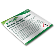 Labels for Gompels Kitchen Cleaner Sanitiser & Degreaser 61225 x 6