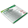 Labels for Gompels Bactericidal Deodoriser 43422 for Spray Bottles x 6