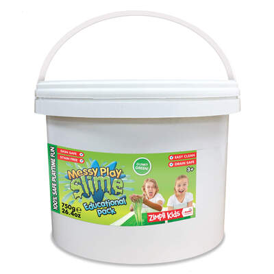 Messy Play Slime Green 750g