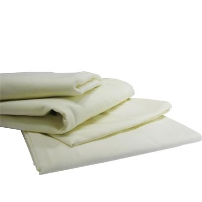 Flame Retardant Single Flat Sheet Cream
