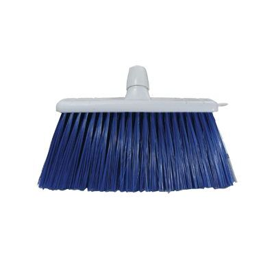Stiff Broom Head 300mm Long Trim - Colour: Blue