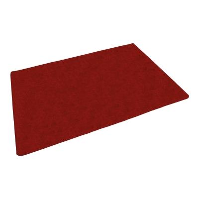 Rectangular Rug 1.78m x 2.57m - Colour: Red