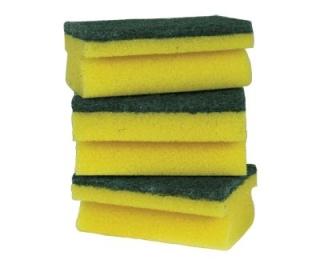 Hand Grip Sponge Scourers x 5