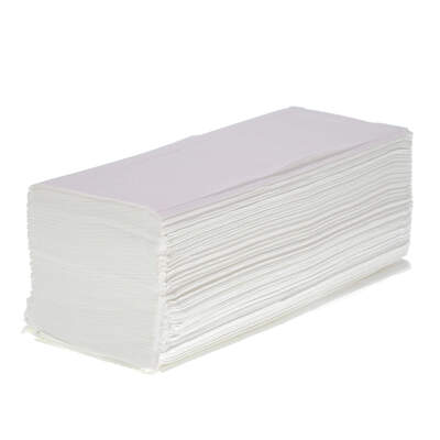 Soclean V Fold White Paper Towels Pure 2ply 3210