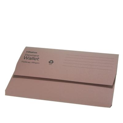 Document Wallet A4 Buff 50pk