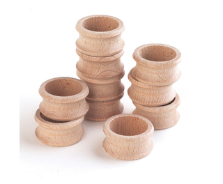 Wooden Napkin Ring 47mm 10 Pack