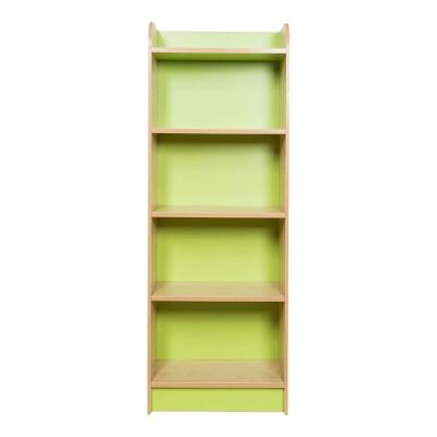 Kubbyclass Slimline Bookcase Beech - Height: 1500mm