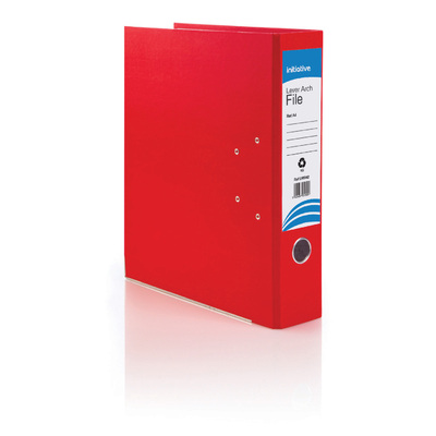 A4 Lever Arch File - Colour: Red
