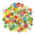 Buttons Assorted 500g Bag