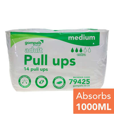 Adult Pull Up Medium 14