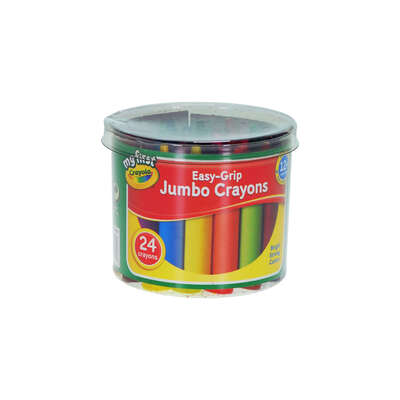 Crayola My First Jumbo Crayons Pack 24