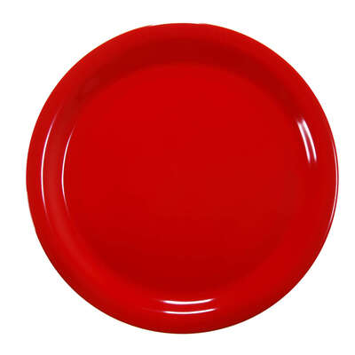 "Gompels Super Tuff Dinner Plate 9"" / 230mm 12pk - Colour: Red"