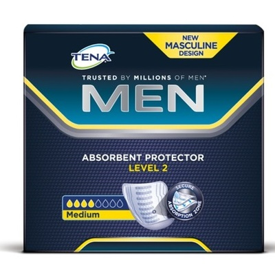Tena Men Shaped Pads Level 2 20