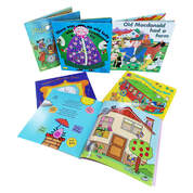 Classic Assorted Books With Holes 6 Pack