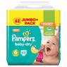 Pampers Baby-Dry Nappies Size 6 Giant 62 Pack