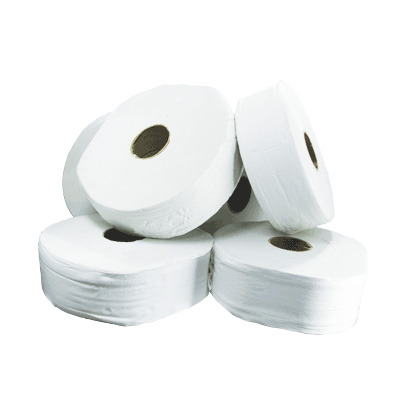 Soclean Jumbo Toilet Rolls 300m 2ply 6 Pack - Core Size: 76mm