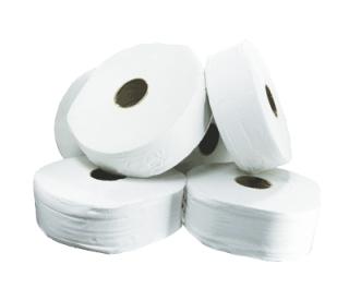 Proform Jumbo Toilet Rolls 300m White 6 Rolls