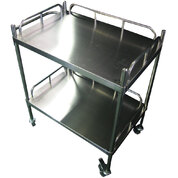 Stainless Steel Trolley x 1