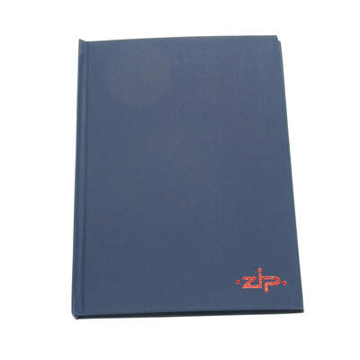 Manuscript Hard Back Notebook A5 160 Pages
