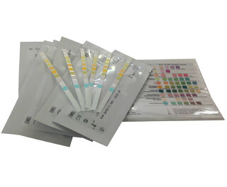 Urine 10 Parameter Test Strips 5pk