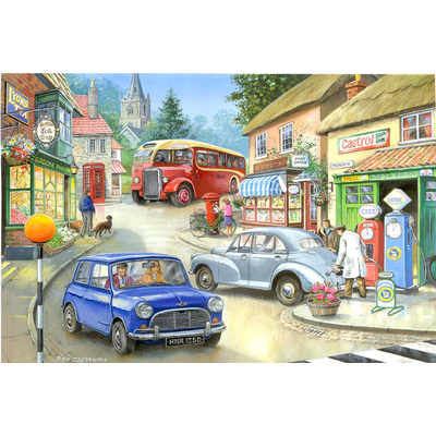 Jigsaw Puzzle 250 Piece - Design: Country Town 250pc