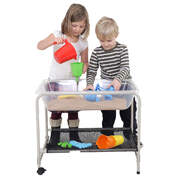 Play Sand and Water Tray With Stand