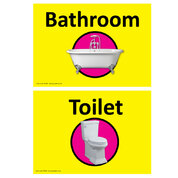 Dementia Sign Toilet/Bathroom