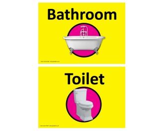 Dementia Sign Toilet/Bathroom