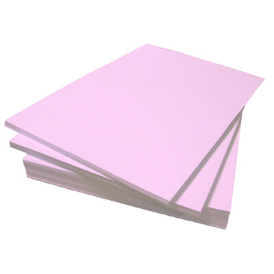 A4 Coloured Paper 80gsm 500 Sheets - Colour: Pink