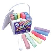 Jumbo Playground Chalks 20 Pcs