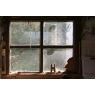 Wall Vinyl Window Pane Potting Shed 60