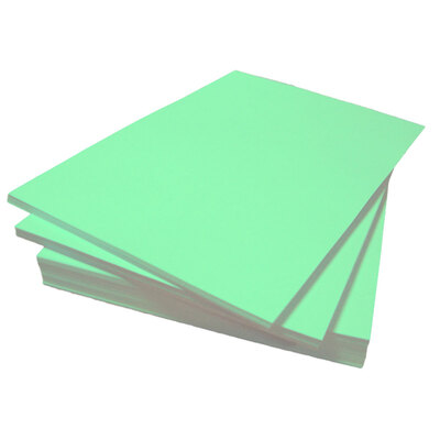 A4 Coloured Paper 80gsm 500 Sheets - Colour: Green