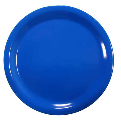 "Gompels Super Tuff Dinner Plate 9"" / 230mm 12pk - Colour: Blue"