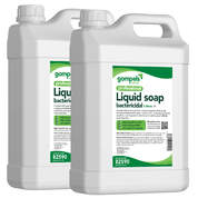 Soclean Bactericidal Liquid Soap 5 Litre 2 Pack