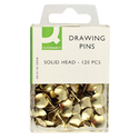 Drawing Pins Solid Head 120