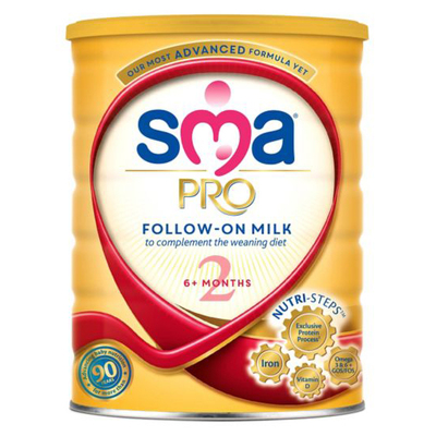 SMA Pro 2 Follow On Milk From 6 Months+ 800g